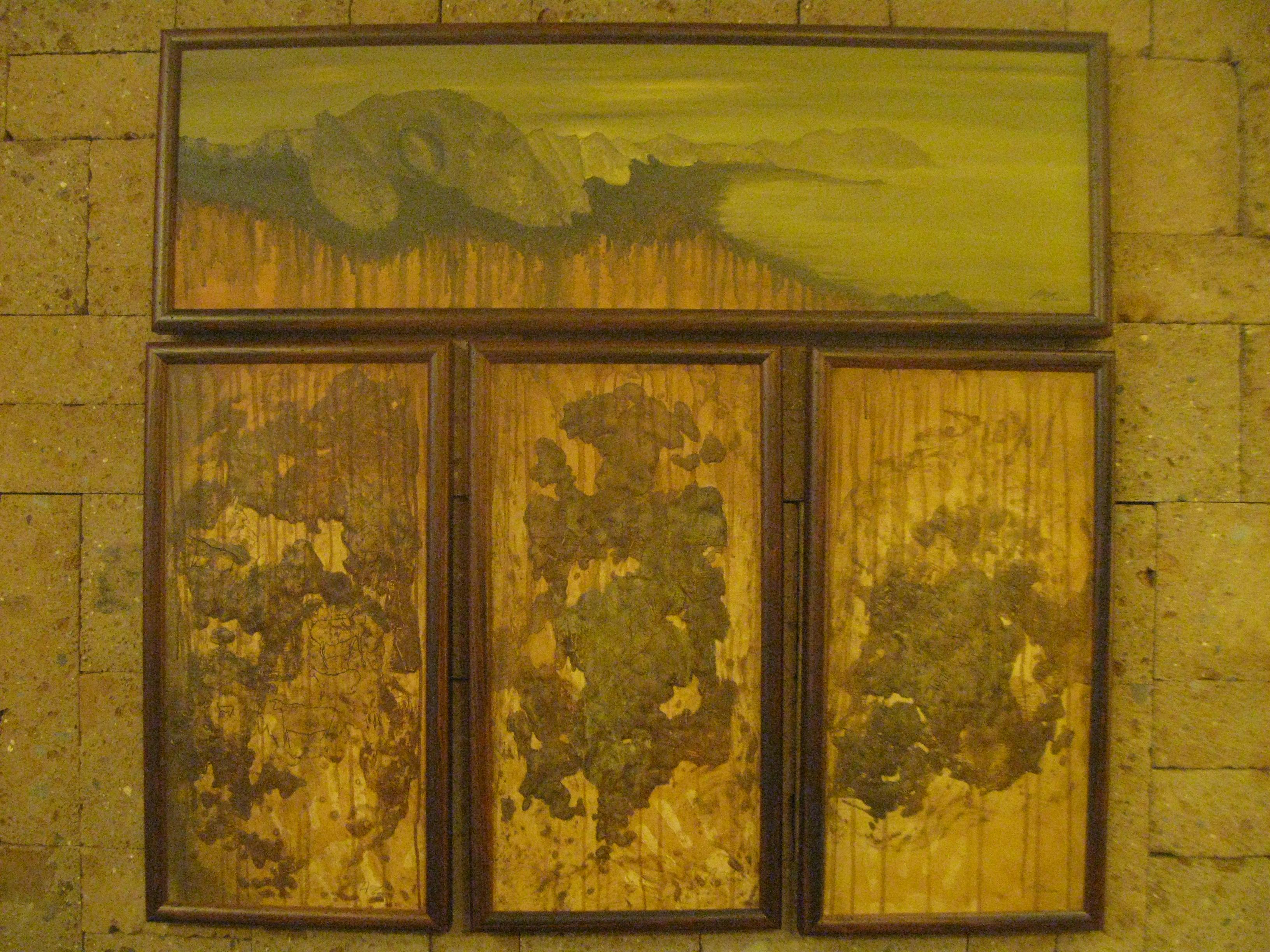 GROTTE DELL'ADDAURA PALERMO n.1 100 x 30, n.3 30 x 60