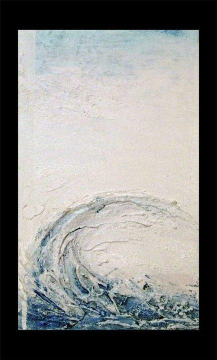 """Quadri Astratti Moderni, Irene Durbano """"ONDA 2"""" dimensioni 80×140 ..."""