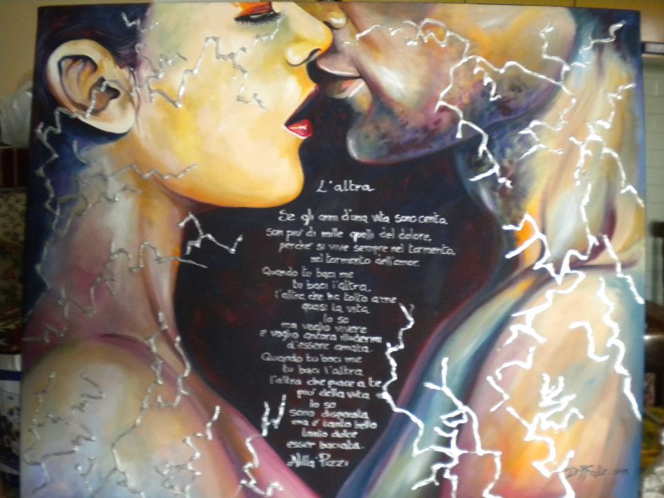 Francesca del frate the art is life for Francesca la troia
