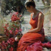 Vladimir Volegov Just finished painting, 61x76 cm, oil on canvas
